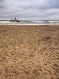 Wreck. Skeleton Coast near Swakopmund, Namibia Stock Photography