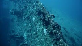 Wreck SS Thistlegorm, Red Sea, Sharm el Sheikh, Egypt stock video footage