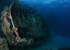 Wreck - St John's reef Egypt Stock Images