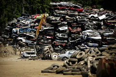 Wreck yard Royalty Free Stock Image