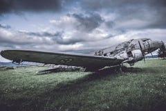 Wreckage of war Stock Image