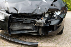 Wrecked car Royalty Free Stock Images