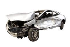 Wrecked Car stock photos