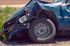 Wrecked Car Royalty Free Stock Photography