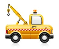 Wrecker car service Royalty Free Stock Photography