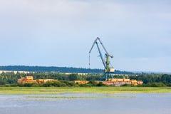 Wrecker crane Stock Photography