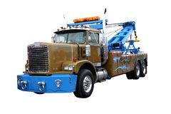 Wrecker Service royalty free stock image