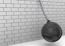 Wrecking Ball - 3D Stock Photos