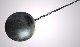 Wrecking Ball Royalty Free Stock Photos