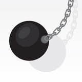 Wrecking Ball Swing Royalty Free Stock Images