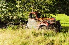 Wrecking car Stock Image