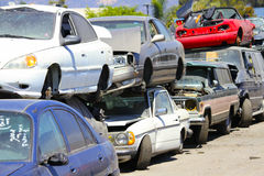 Wrecking Yard Royalty Free Stock Image