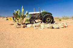 Wrecks in Solitaire settlement, Namibia Royalty Free Stock Images