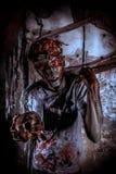 Wrede zombie royalty-vrije stock foto