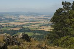 Wrekin View royalty free stock photos