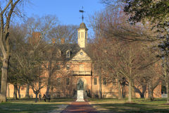 Wren building of William and Mary Royalty Free Stock Photos