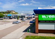 Wren Kitchens Nottingham Castle Marina Retail Park Royalty Free Stock Photography