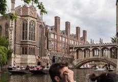 Wren Library Sigh Bridge Cambridge England Royalty Free Stock Image