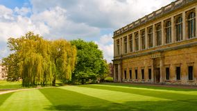 Wren Library in Trinity College Royalty Free Stock Photo