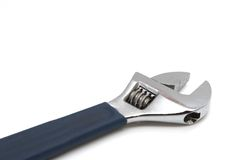 Wrench. Crescent wrench Royalty Free Stock Image