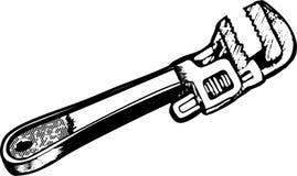wrench Στοκ Φωτογραφία