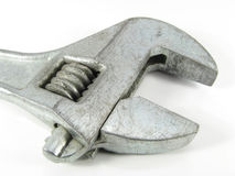 Wrench. On a white background royalty free stock photos