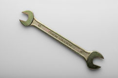 Wrench on gradient background Royalty Free Stock Image