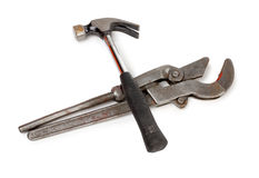 Wrench and hammer Royalty Free Stock Photo