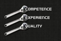 Wrench holds lettering quality, competence, experience