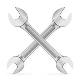 Wrench icon Stock Photography