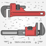 Wrench Icons. Wrench Icons Vector. Wrench Icons Drawing. Wrench Royalty Free Stock Photos