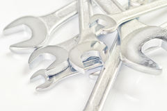Wrench Jaw Spanner Tools Royalty Free Stock Photos