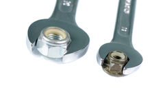 Wrench and nut Stock Photos