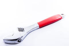 Wrench. A wrench over white background Stock Photography