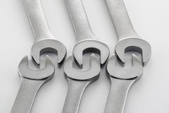 Wrench Patterns 7 Stock Photo