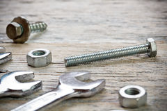 Wrench set Stock Images