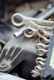 Wrench set Stock Photos