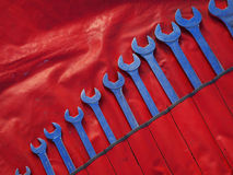 Wrench set Royalty Free Stock Photo