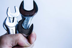 Wrench set Royalty Free Stock Images