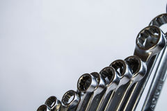 Wrench set Royalty Free Stock Photography