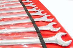 Wrench  sizes Royalty Free Stock Image