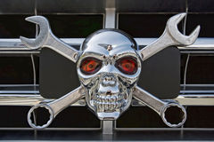 Wrench Skull Royalty Free Stock Image