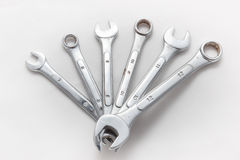 Wrench spanners royalty free stock photography