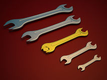 Wrench tool Stock Photos