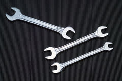 Wrench tools equipment Royalty Free Stock Photos