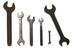 Wrenches royalty free stock photography