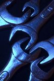Wrenches. Industrial tools stock photography