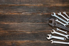 Wrenches of different sizes. Stock Image