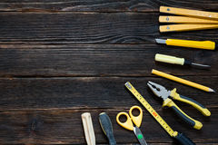 Wrenches of different sizes. Royalty Free Stock Photo
