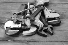 Wrenches Stock Photos